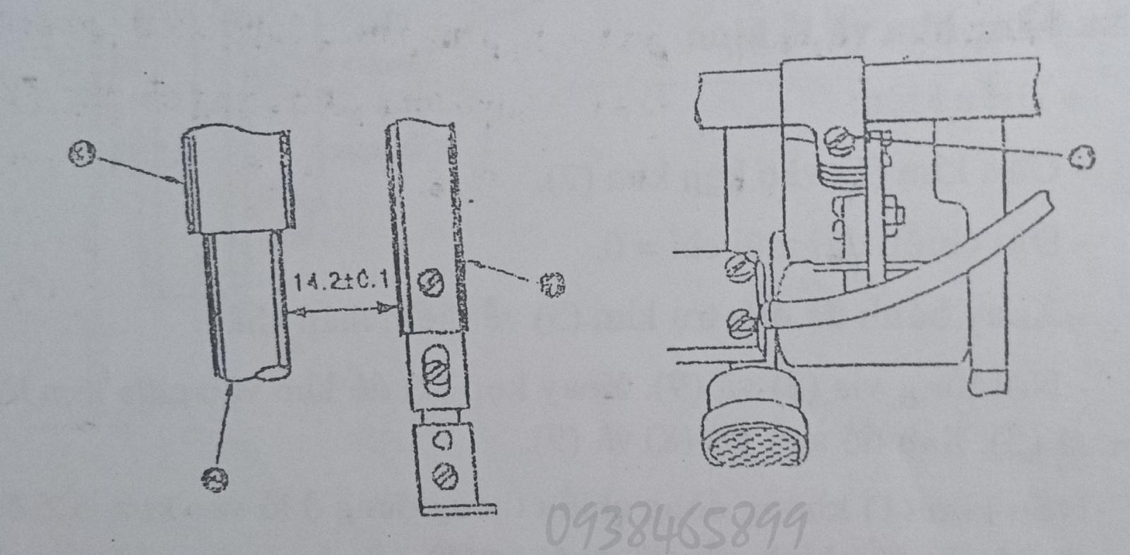 Cách điều chỉnh máy 2 kim